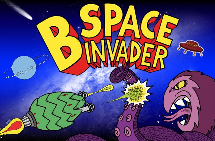 B-Space Invader – Black IPA