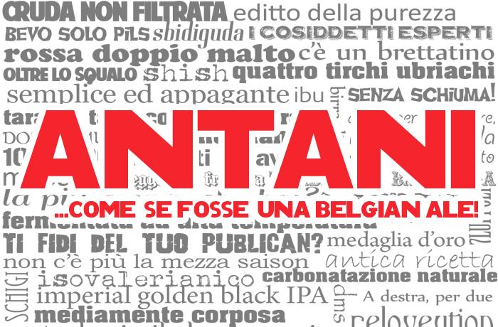 Antani Spicy Belgian Ale