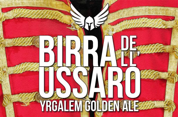 Birra dell'Ussaro – Coffee Golden Ale