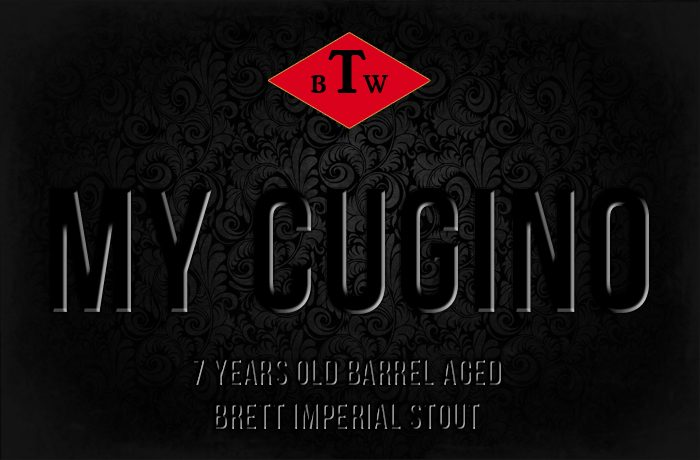 My Cugino – Barrel Aged Brett Imperial Stout