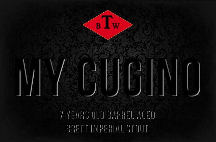 My Cugino – Barrel Aged Brett Imperial Stout